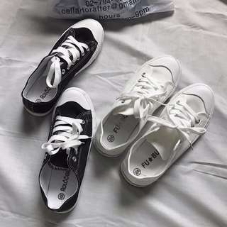 [ PREORDER ] ULZZANG CANVAS SHOES