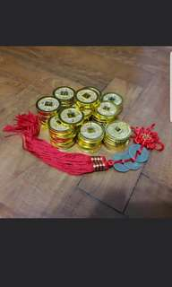 Gold plastic  Coins Chinese New Year