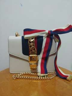Gucci Sylvie mini chain bag 蝴蝶結袋