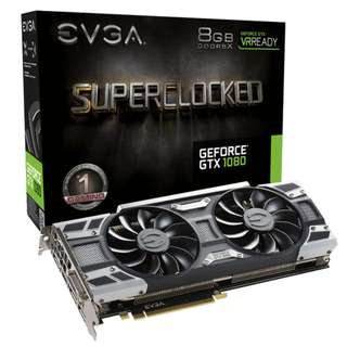NEW GeForce GTX 1080 EVGA SC