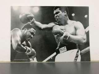 Muhammad Ali Autograph & Postcard