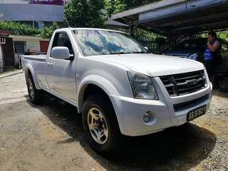 Isuzu Dmax Single Cab 3.0 (M)