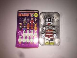 迪士尼 Disney Bearbrick Be@rbrick Halloween Mickey 米奇老鼠