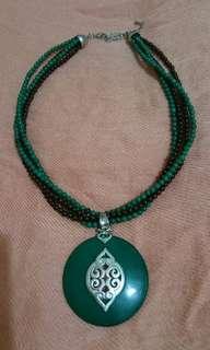 Cute big Green pendant