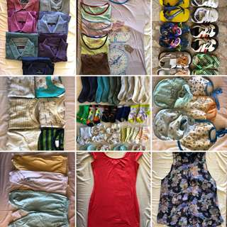 Free Preloved Items (Men's, Women's, Baby's)