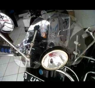 Vespa px windshiepd flyscreen