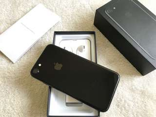 Iphone 7 128gb Jet Black Factory Unlocked Complete 100% Smooth
