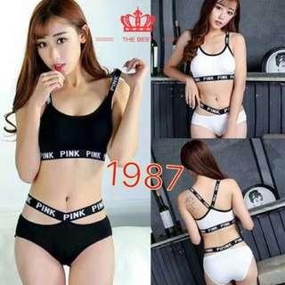 Preorder Korean Underwear Terno