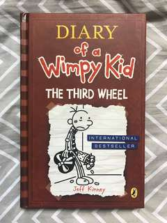 Diary Of A Wimpy Kid - Third Wheel (Hardcover)
