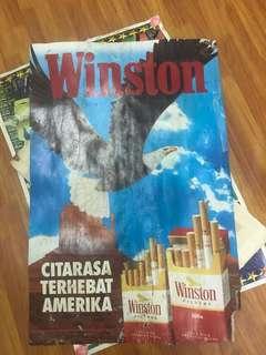 Vintage Winston poster