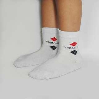YOBBO CLUB 童襪、成人襪 (紅色款)