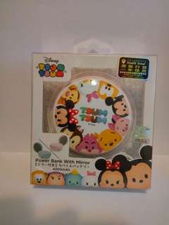 Disney Tsum Tsum 4000mah 充電器連鏡盒