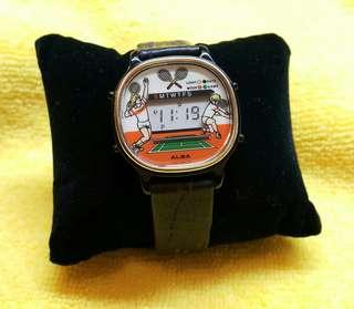 ALBA 雅柏 80年代有遊戲玩的電子錶
