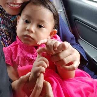 Cheongsam Style Baby Tutu Dress