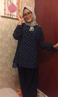 Baju Muslim Navy