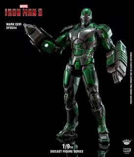 King Arts DFS034 Iron Man Mark 26 Gamma