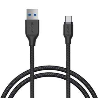 AUKEY USB-C to USB 3.0 Cable Nylon Braided
