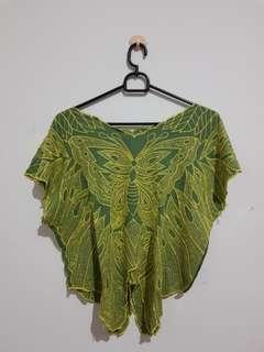 Baju Bali Kupu2 Bordir