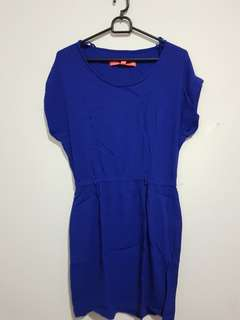 Dress Mango Blue