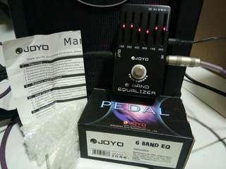 Joyo 6 Band EQ Guitar Effect Pedal