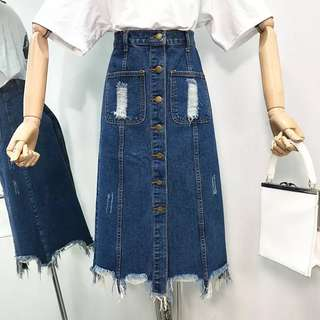 Denim Skirt vintage
