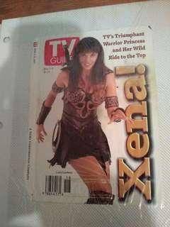 Tv guide cover picture