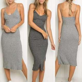 Po/Ribbed Dress