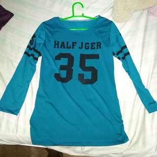 Half jger long sleeve