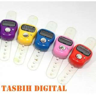 Alat hitung tasbih finger counter digital