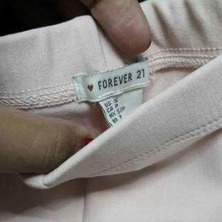 Forever21 blushpink leggings