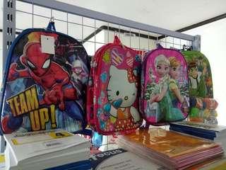 School bag for preschool (girl and boy design)