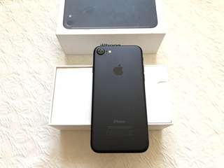 Iphone 7 256gb Matte Black Factory Unlocked Complete Smooth