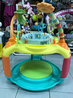 Bright Starts Springin' Safari Bounce-a-Bout Activity Center