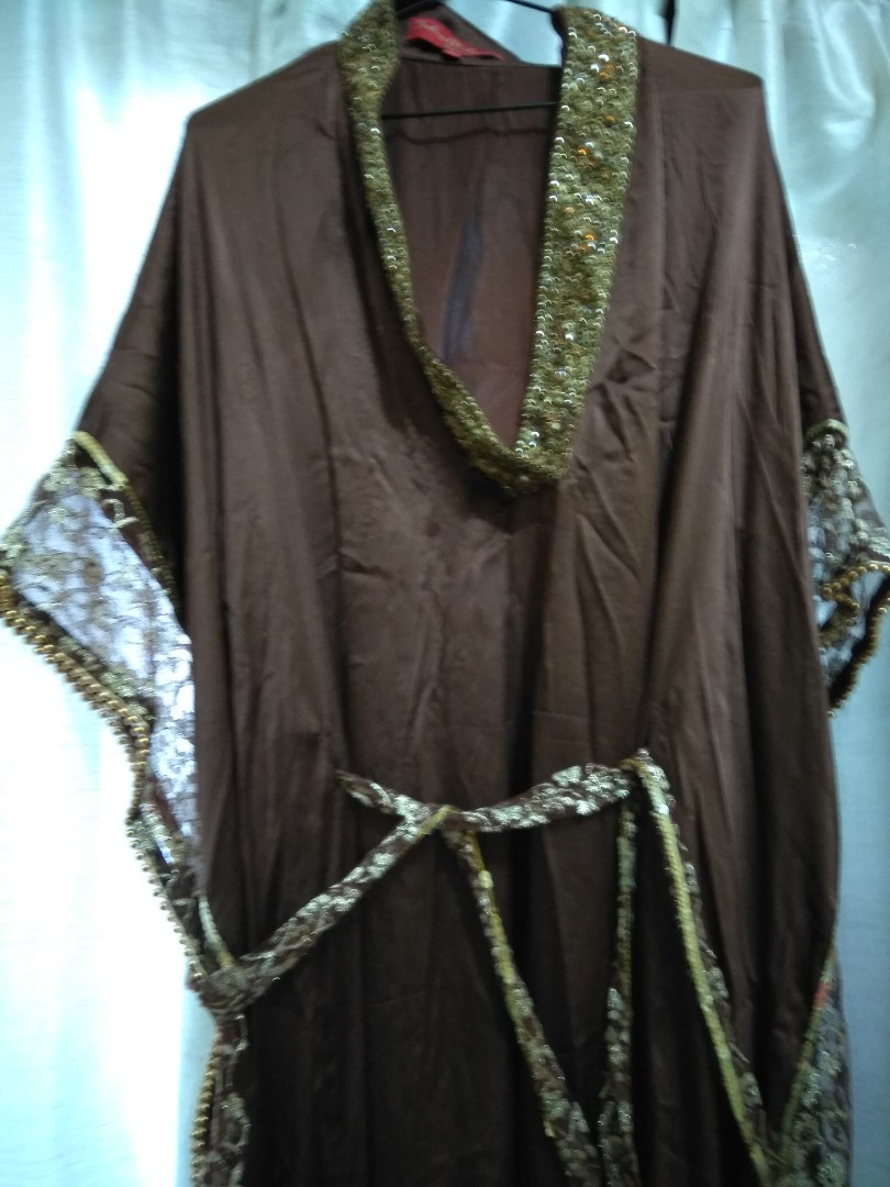 Abaya From Qatar, Womens Fashion, Clothes On Carousell-2976