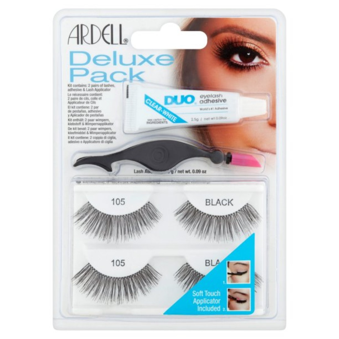 d461dcbf50f Ardell Deluxe Pack (Wispies / 105 Black / 120 demi) , Health ...