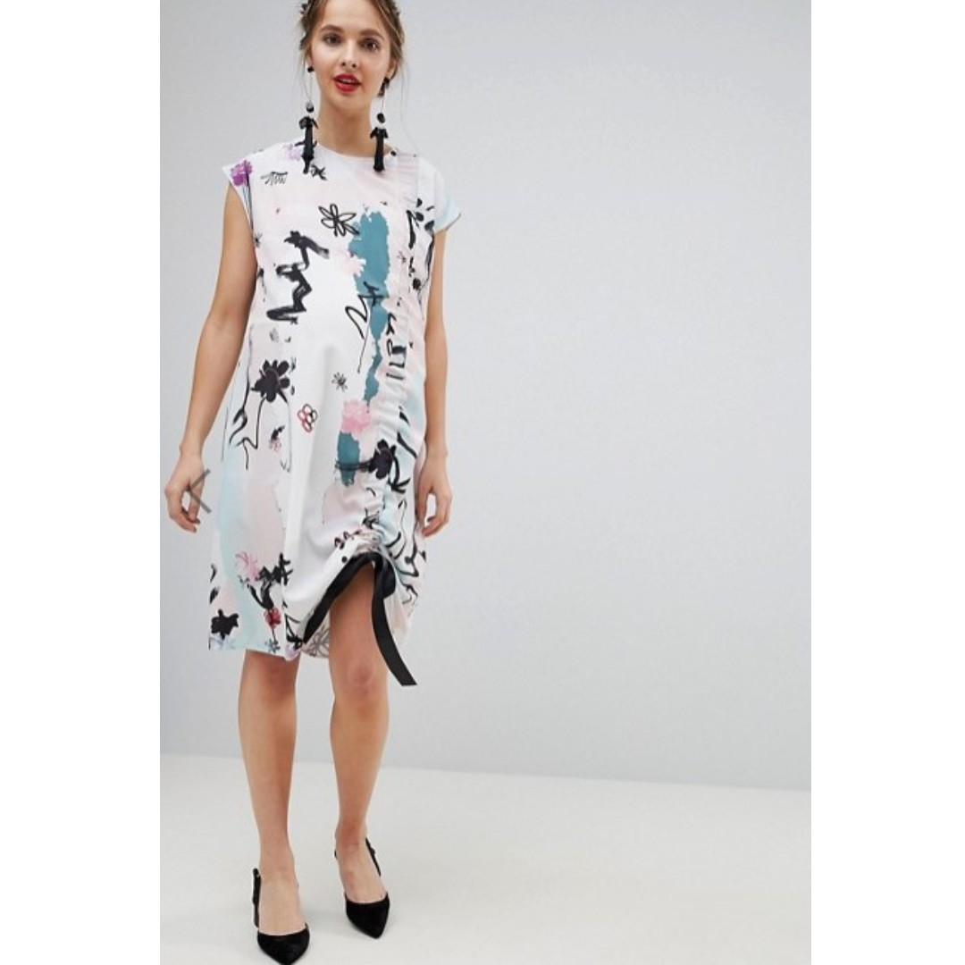 8e78ef6fbdd Asos Maternity Floral Wrap Dress - Data Dynamic AG