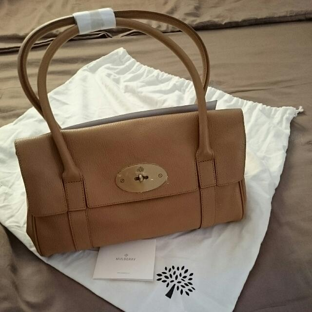 2a83d03123 Mulberry Bayswater East West (BN authentic) - Deer Brown