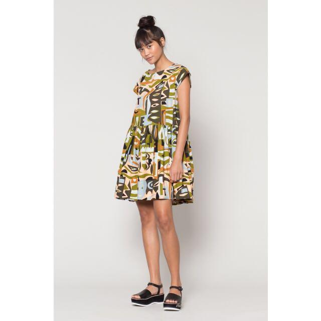 0a10c3e94a201 BNWT Gorman Camo Beach Dress, Women's Fashion, Clothes on Carousell