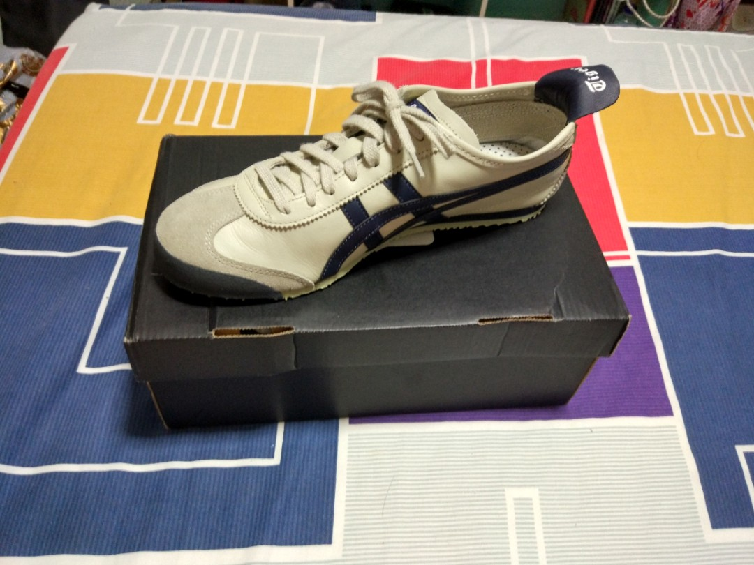Brand New  Onitsuka Tiger Mexico 66 Birch India Ink Latte Authentic ... 0faebdc660411