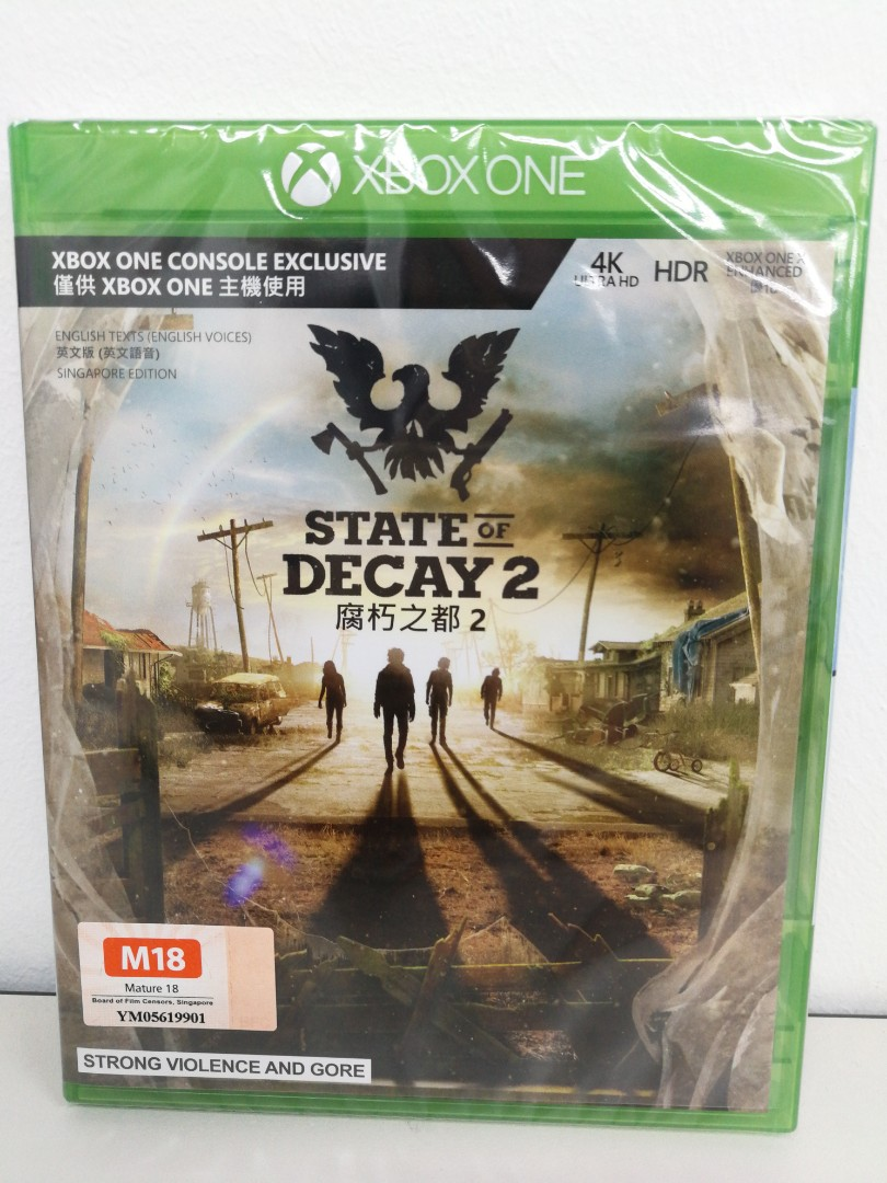 Brand New Xbox One State Of Decay 2 Toys Games Video Gaming Mx Gp Cover English On Carousell