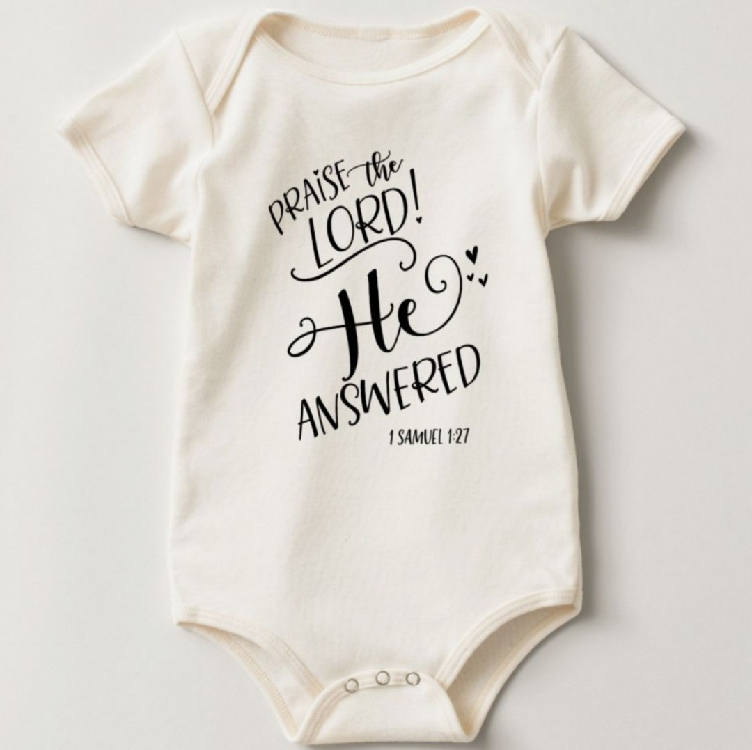 customise christian quotes qotd baby romper onesie babies kids