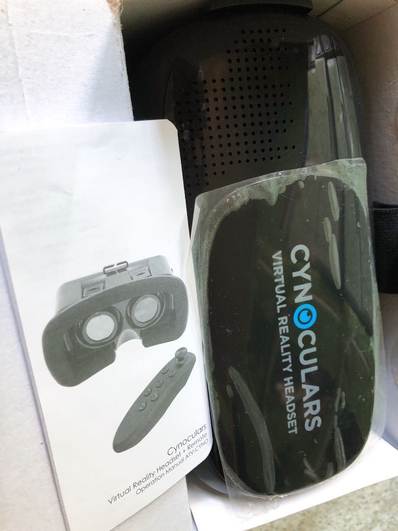 d8300838bc59 Cynoculars Virtual Reality Headset plus remote