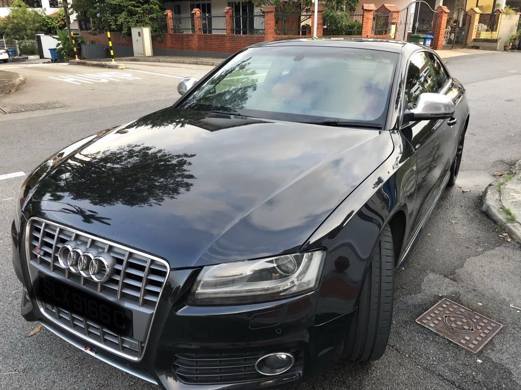 For Rent Black Audi S S Line V Engine L Cars Vehicle Rentals - Black audi
