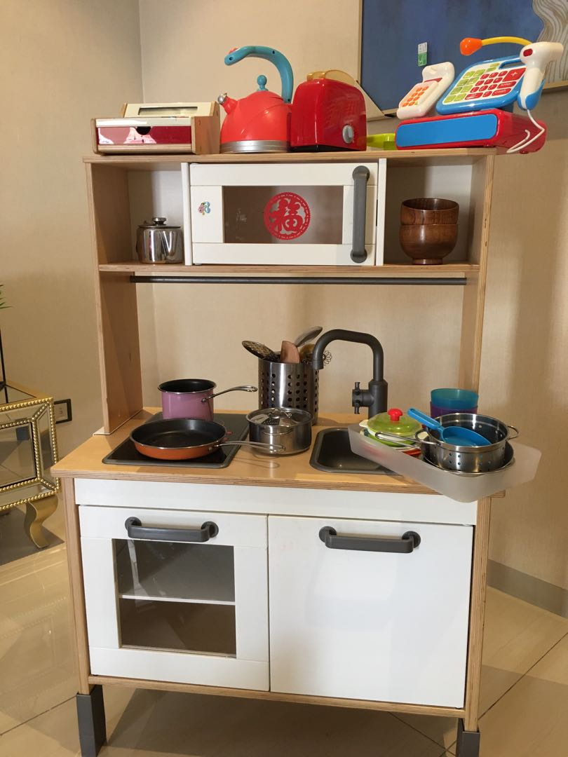Ikea Kitchen Set And Storage Rack