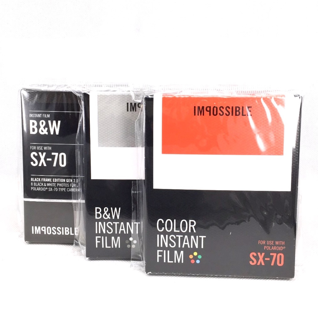 IMPOSSIBLE Project Films for SX-70 Polaroid Cameras 4dd54d4c5cd