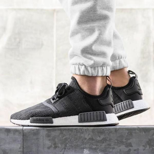 detailed look f7761 7b19e Instock Adidas NMD R1 Core Black Carbon, Men's Fashion ...