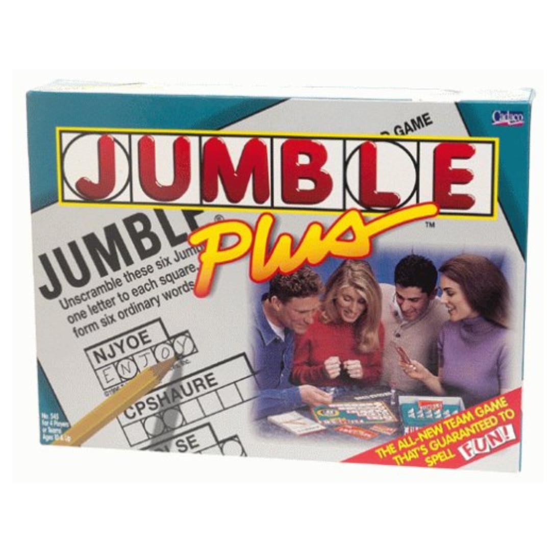 Jumble Plus - Family Fun Word Game