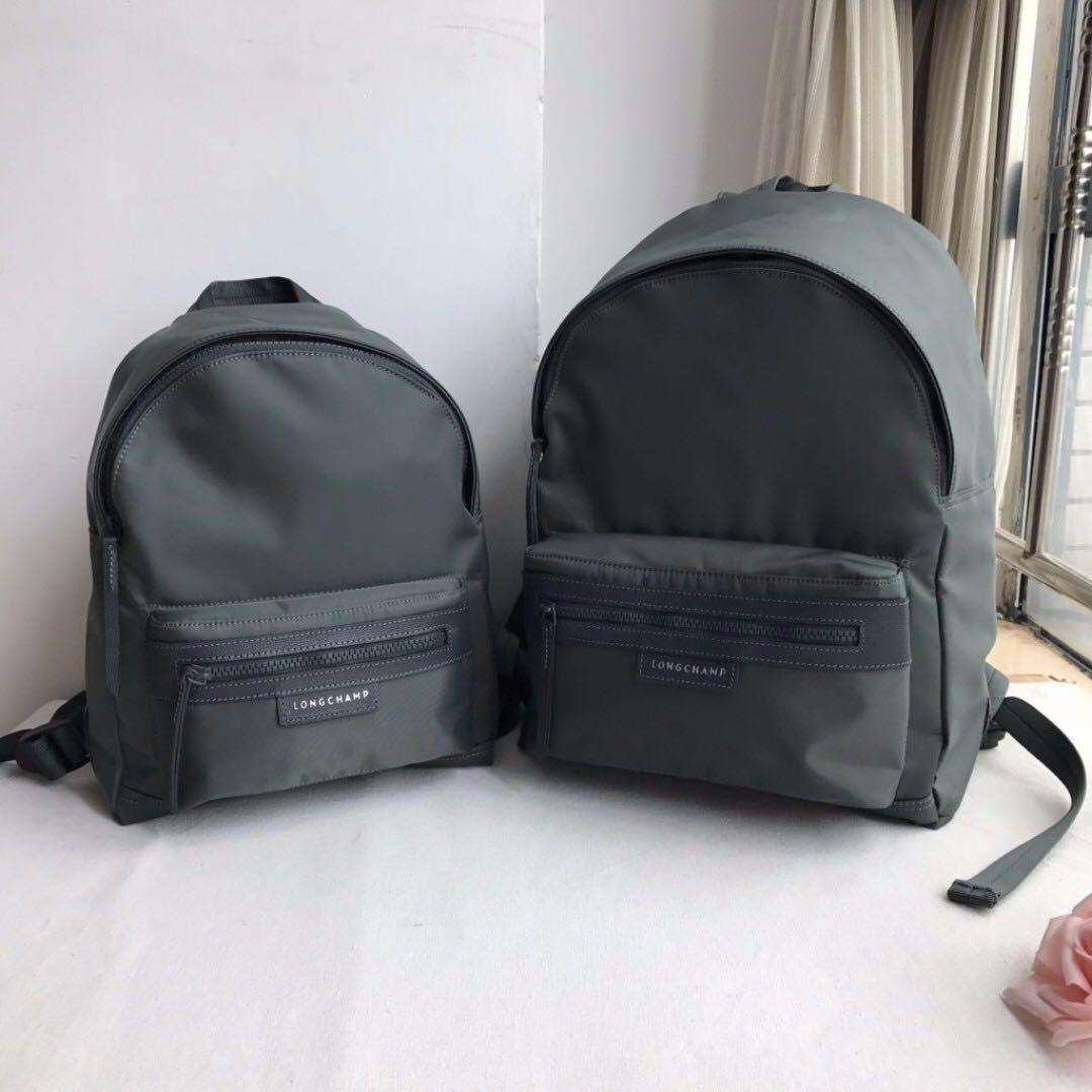 d6cebdee63288d Longchamp Le Pliage Neo Medium Backpack in Grey