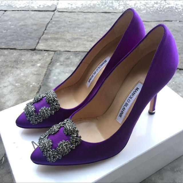 Manolo Blahnik 10cm High Heels