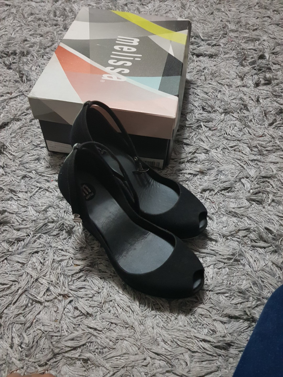 7bd6ca2145 Melissa patchuli.wedge, Women's Fashion, Shoes on Carousell